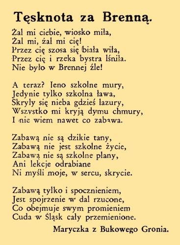 Poezja Na łamach Gwiazdki Cieszyńskiej